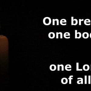 One Bread One Body Singalong Christian Video HD With perfectly timed Lyrics. Easy to follow and sing Video & Audio to enhance the Worship experience.