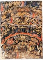 Inferno, from the Divine Comedy by Dante (Folio 1v)Circa 1430, Public domain(Click to enlarge)
