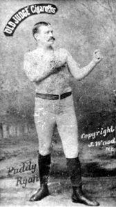 Paddy Ryan from 1887 Old Judge cardPublic domain
