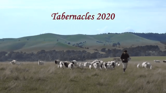 Tabernacles 2020 Opening Screen