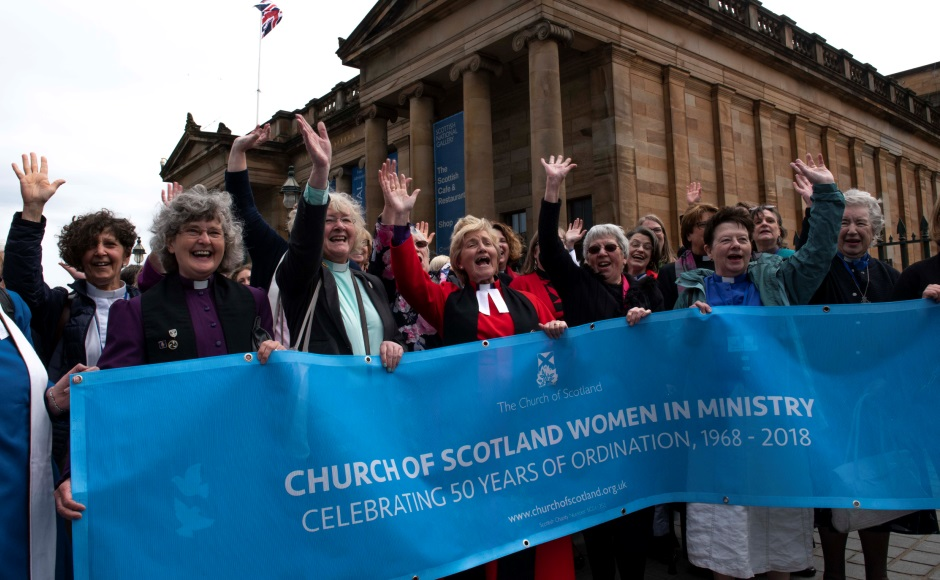 Image result for church of scotland female ministers