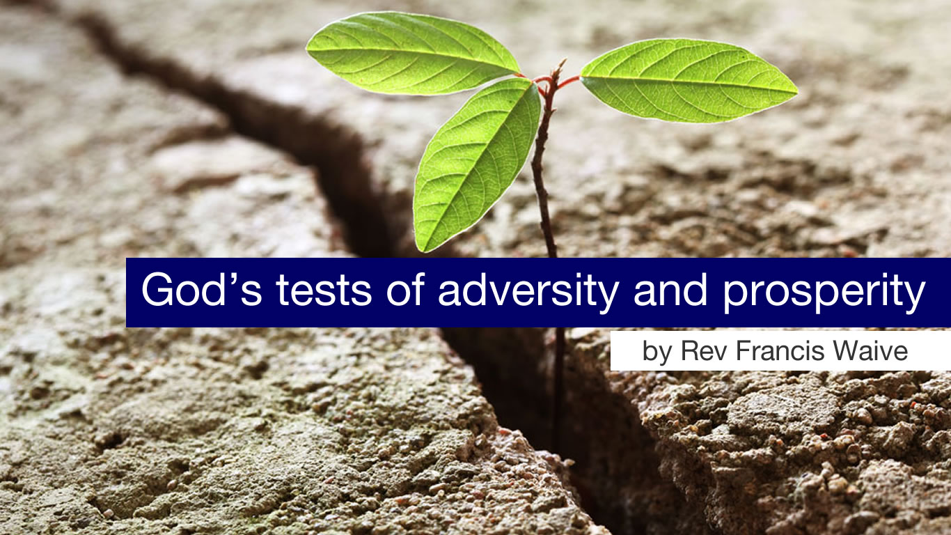 God's tests of adversity and prosperity