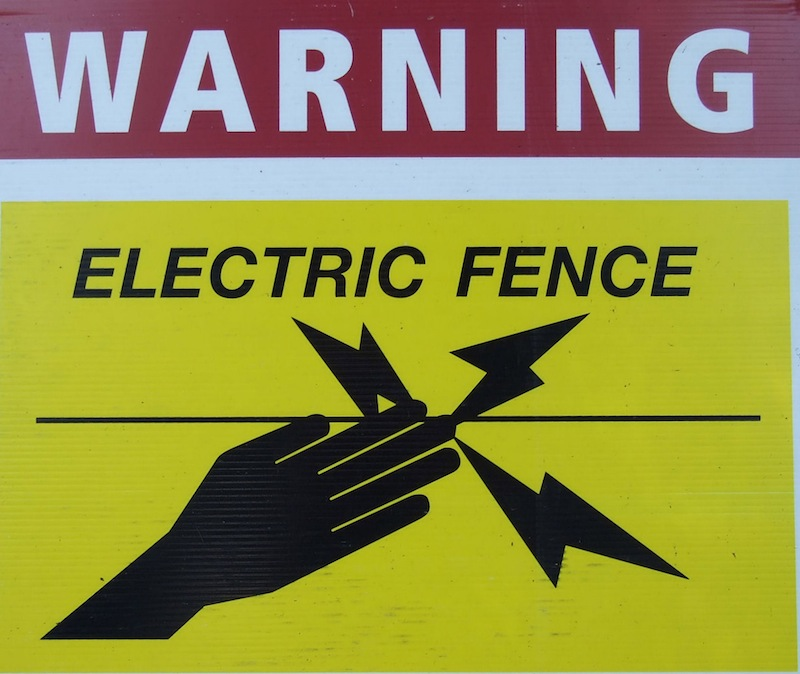 Lessons From An Electric Fence