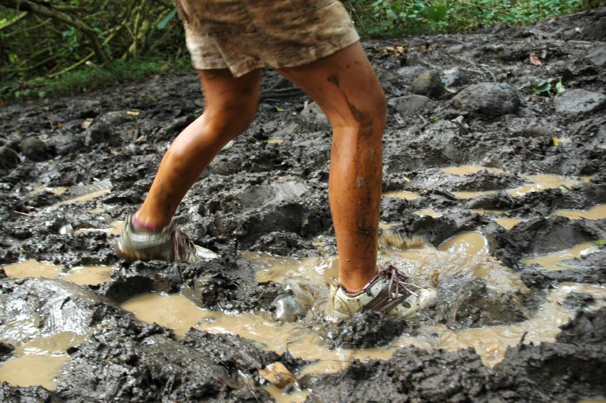 Slugging Through The Mud