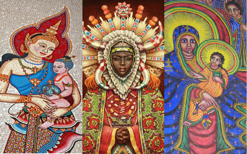 13 Beautiful Non White Depictions Of The Blessed Virgin