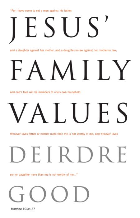 ChurchPublishing.org: Jesus' Family Values