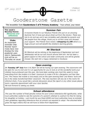 thumbnail of Gooderstone Summer 12