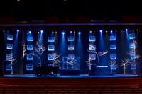 Frosty Windows | Church Stage Design Ideas