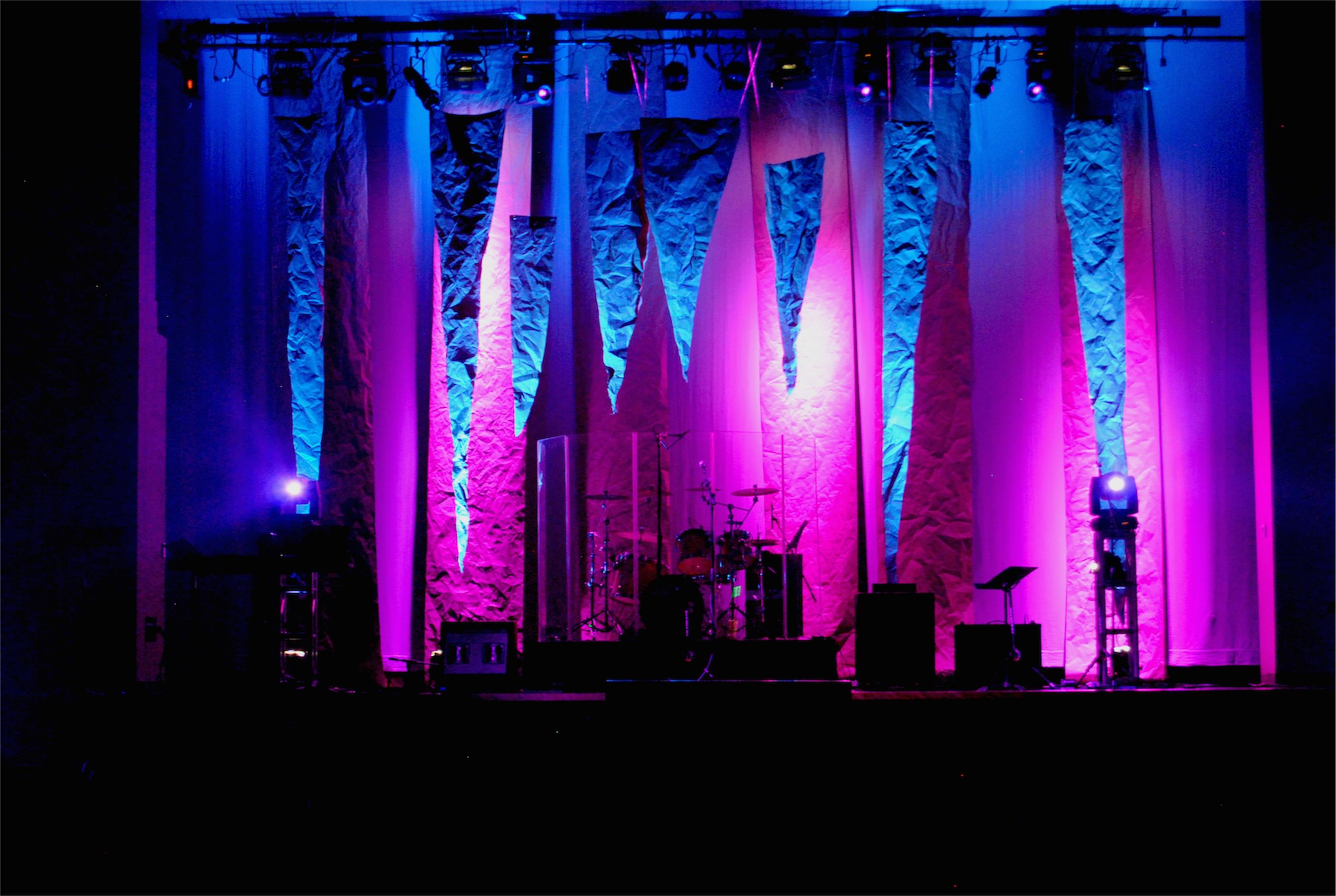 Stage Lighting Design Ideas