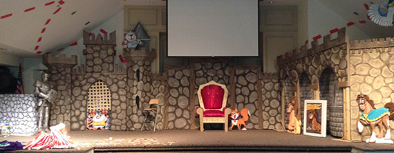 Animal Castle  Church Stage Design Ideas