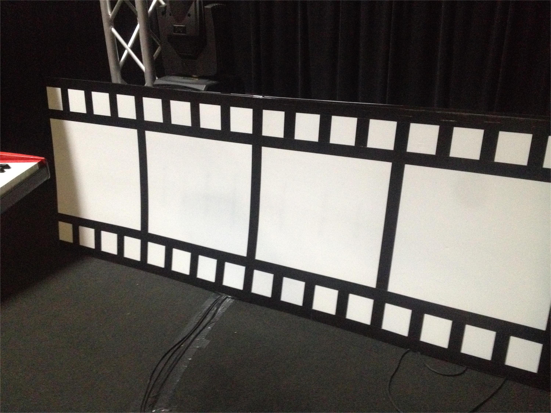 Film Stripped  Church Stage Design Ideas