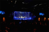 Windows to a Starry Night | Church Stage Design Ideas