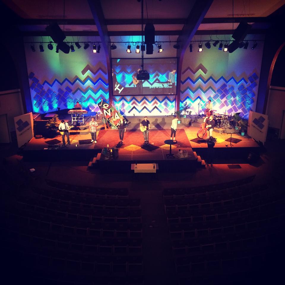 Summer Versatility  Church Stage Design Ideas