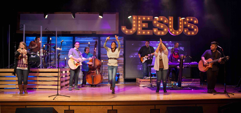 What Wood Jesus Do  Church Stage Design Ideas