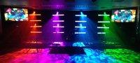 DIY Light Bars | Church Stage Design Ideas