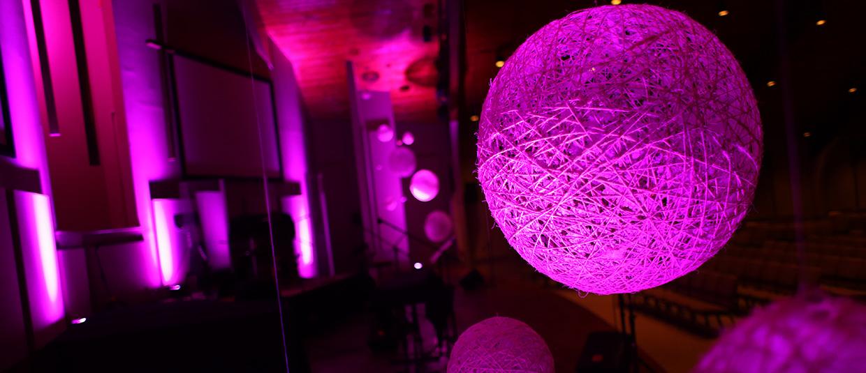 DIY Yarn Balls  Church Stage Design Ideas