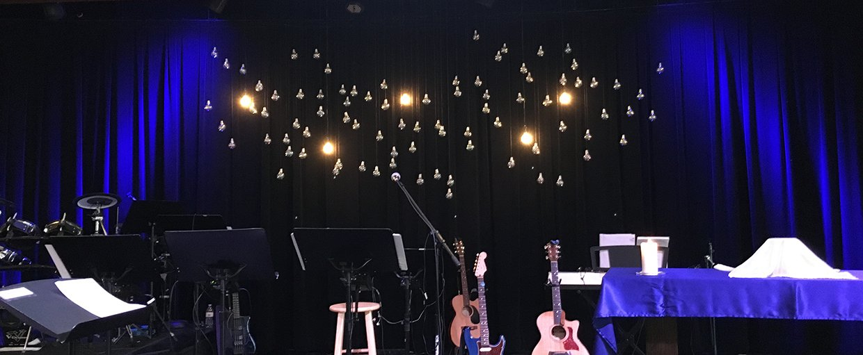 Different Lights  Church Stage Design Ideas