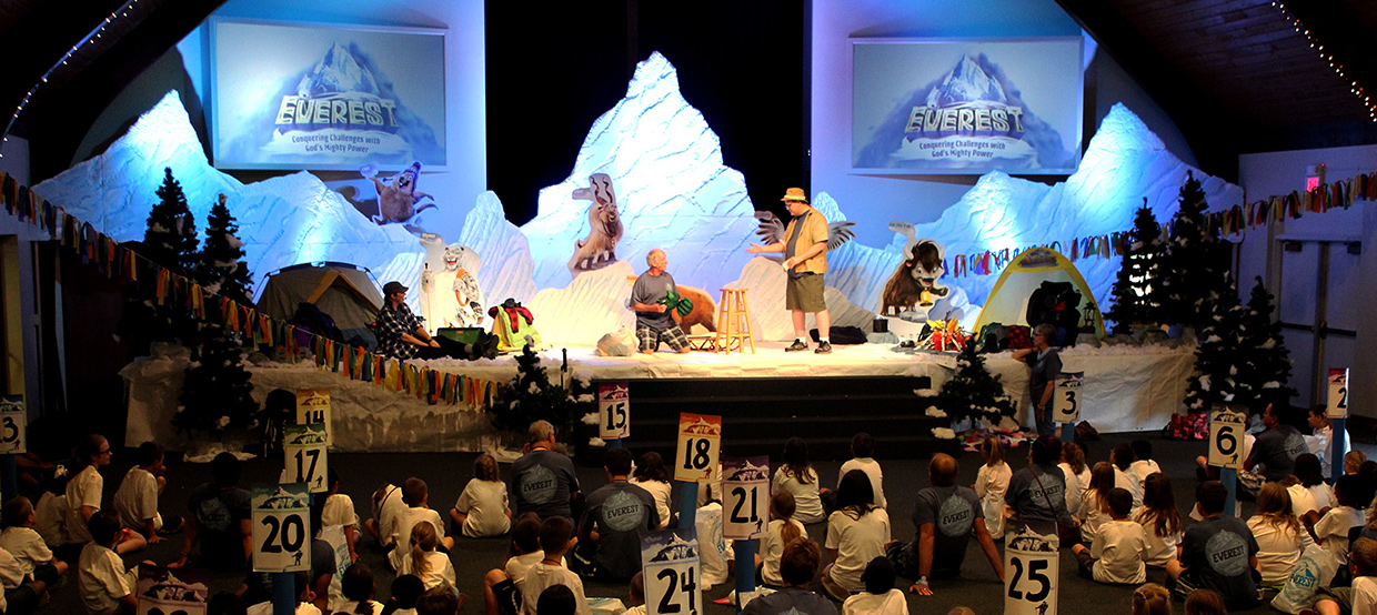 Chiseled Mountains  Church Stage Design Ideas