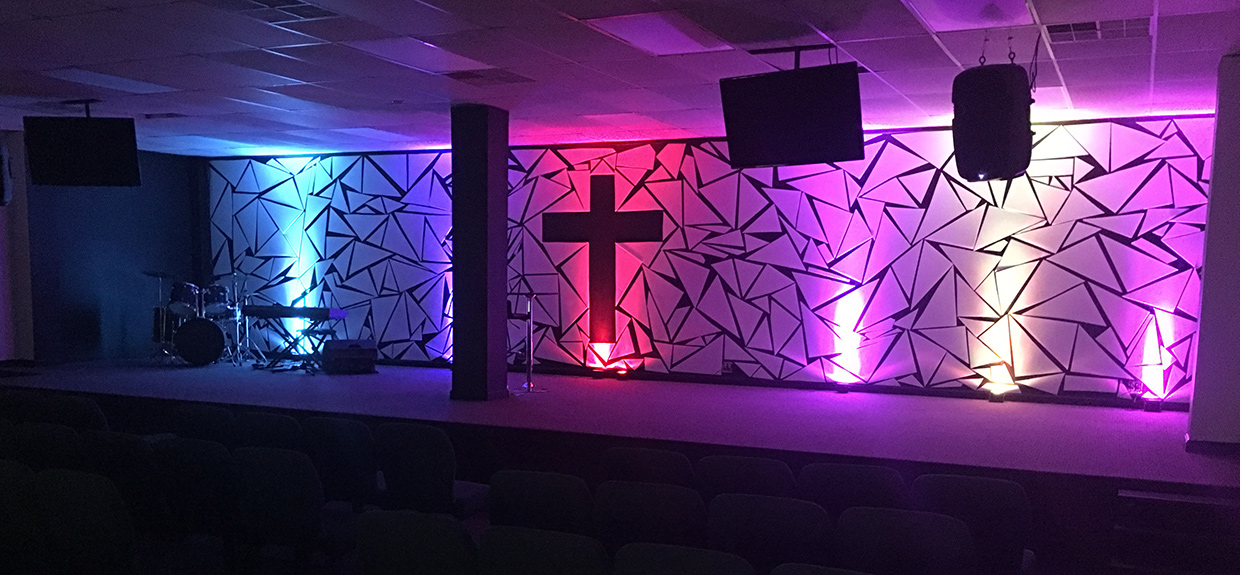 Refragmented Church Stage Design Ideas