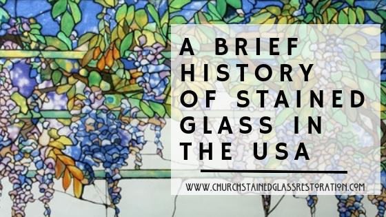 a history of stained glass church stained glass restoration