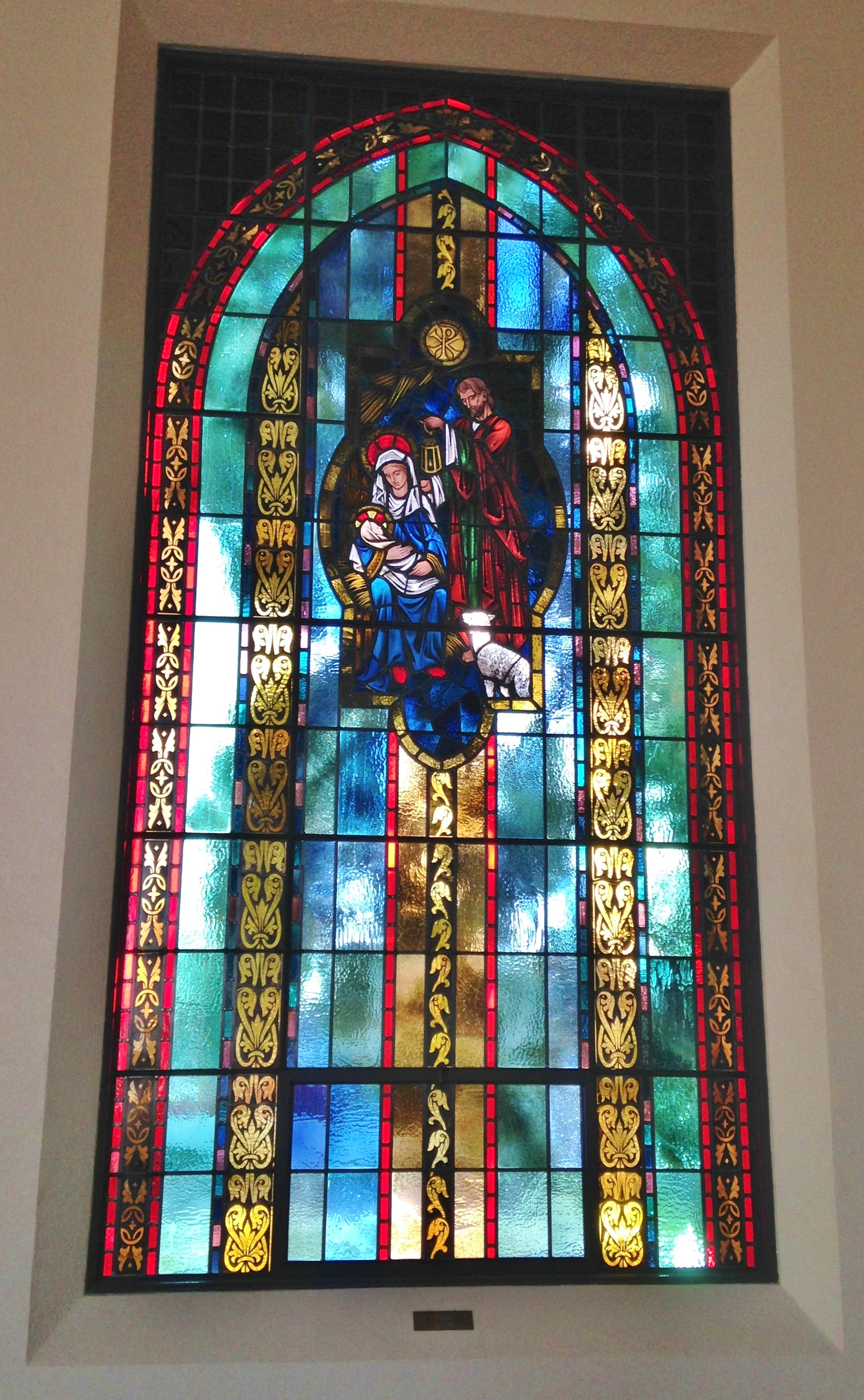 church stained glass restoration completed