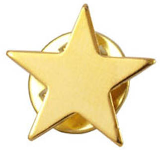 gold or silver star