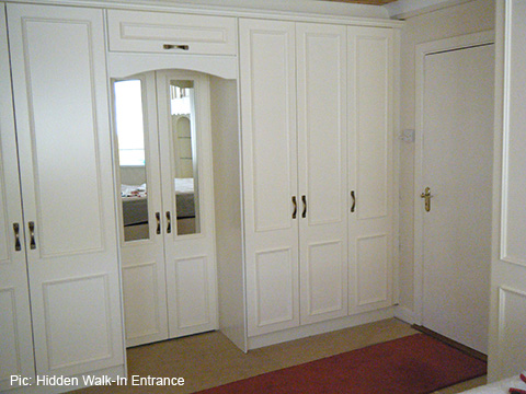 Fitted wardrobes and bedroom furniture  Churchtown
