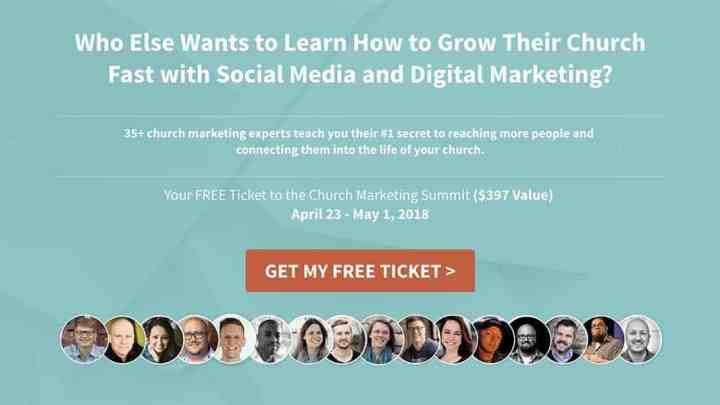 church marketing summit free ticket