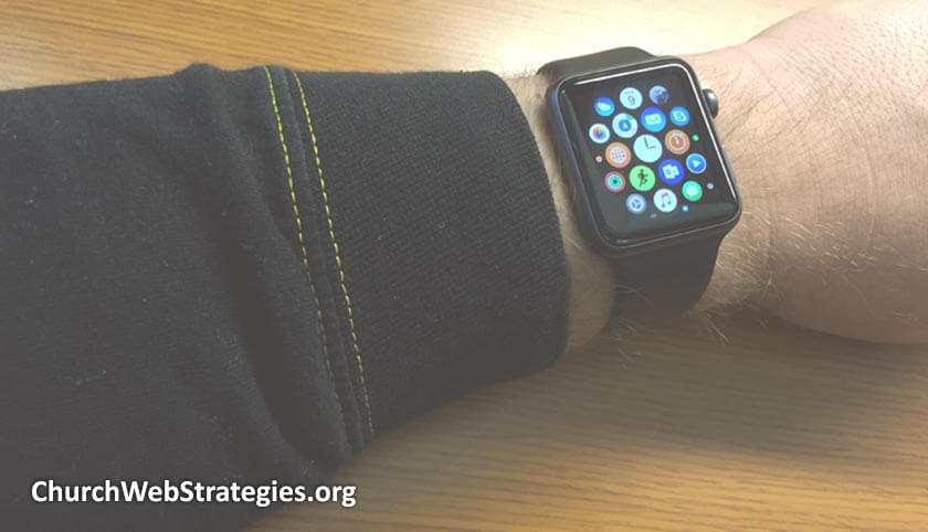 Get the Most from a Church App on Wearable Tech