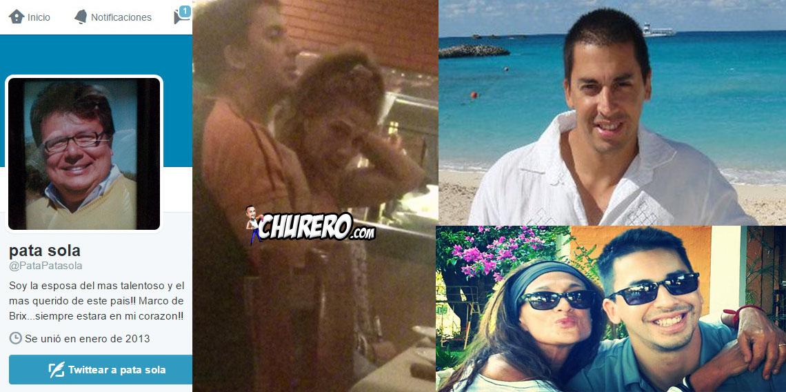 """La viuda de Marcos de Brix Carmen """"Pata"""" Solá ya tiene a un nuevo amor?  Carmen estaría saliendo con el cantante Dani Di Flores."""