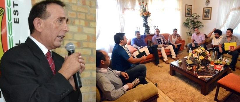 Concejales del G7 evitan que Barreto sea investigado por millonario desfalco en CDE.