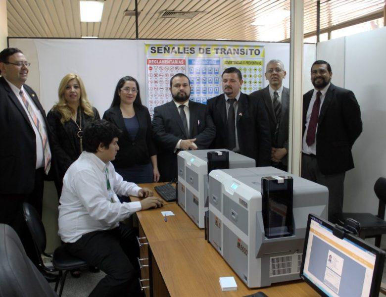 Municipalidad de Asunción cuenta con nuevo centro de impresión de licencias acorde a ley de tránsito.
