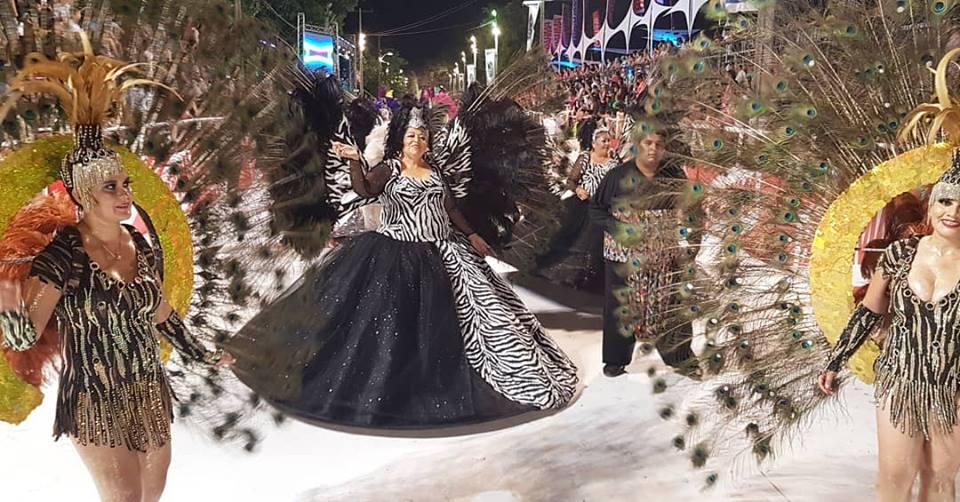 Exitosa primera noche del Carnaval Gua'í se despide el sabado 10 de Febrero