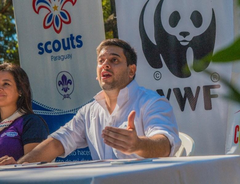 Concejal de Asunción se convirtió en miembro de la 'Comunidad Internacional Panda'