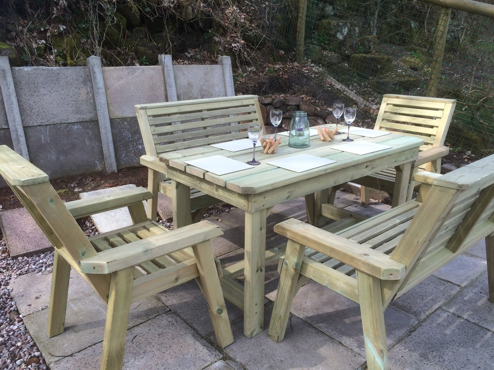 garden sofa and table sets linen or fabric churnet valley furniture ltd quality handcrafted