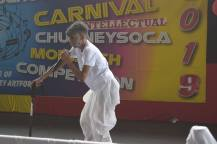 Couva West Secondary School Student Jonathan Ramnarine Was A Popular Act In The Show