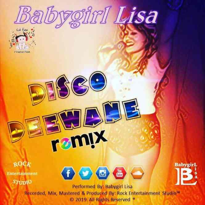 Disco Deewane By Babygirl Lisa (2019 Bollywood Cover)