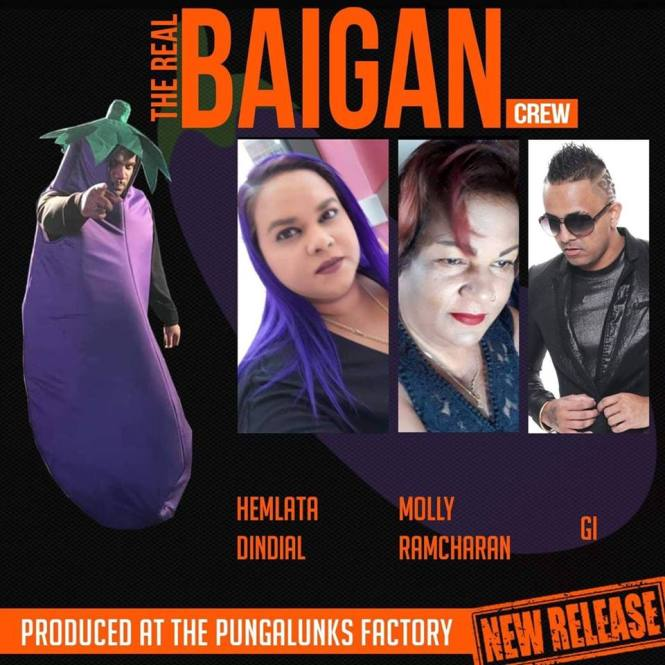 Hemlata Dindial, Molly Ramcharam And Gi The Real Baigan Crew