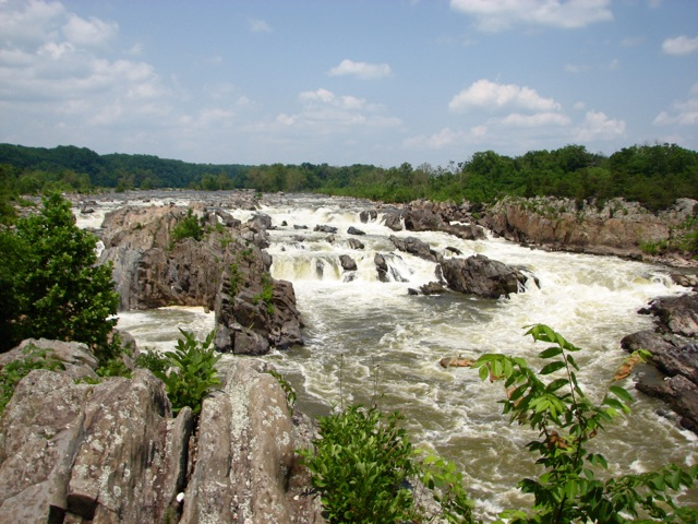 Visiting Great Falls
