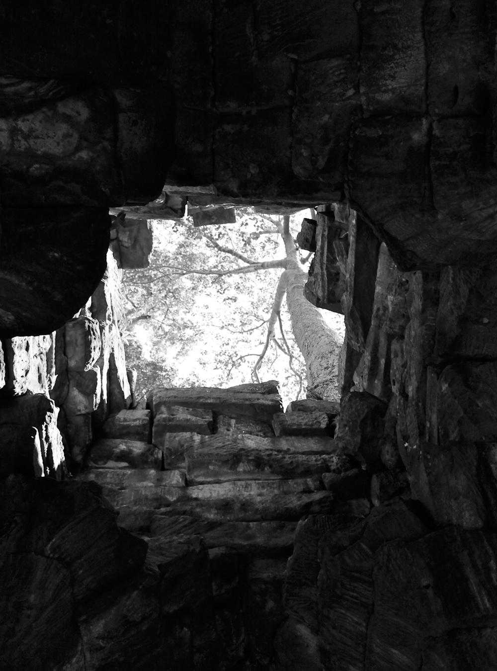 ruin in Cambodia