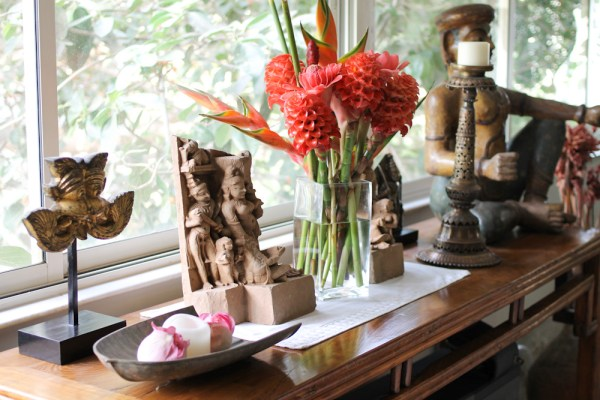Home with Indian Antiques-13