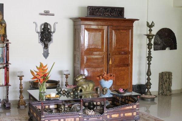 Home with Indian Antiques-48