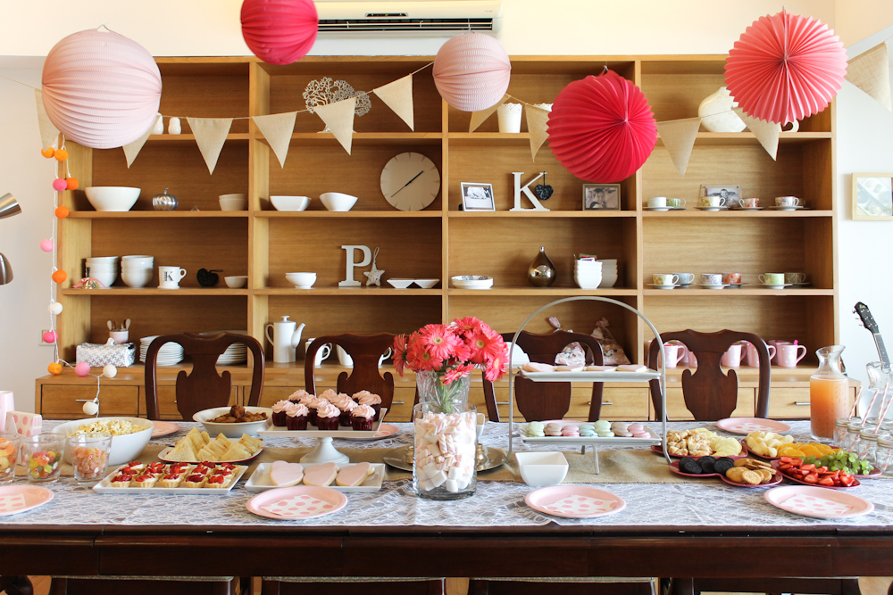 Pink Themed Birthday Party