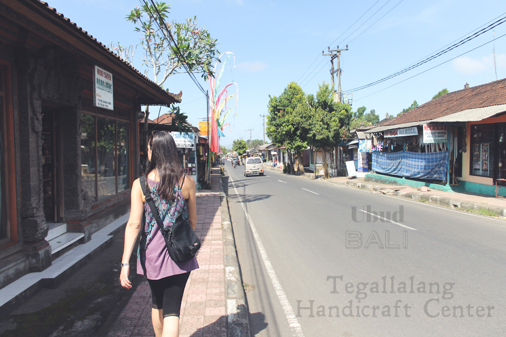 Handicraft Shopping In Bali ☆ Tegallalang Handicraft Center