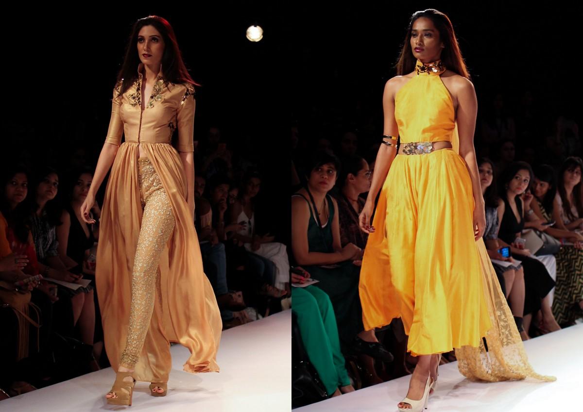 Nikhil Thampi Payal Singhal Lakme Fashion Week1