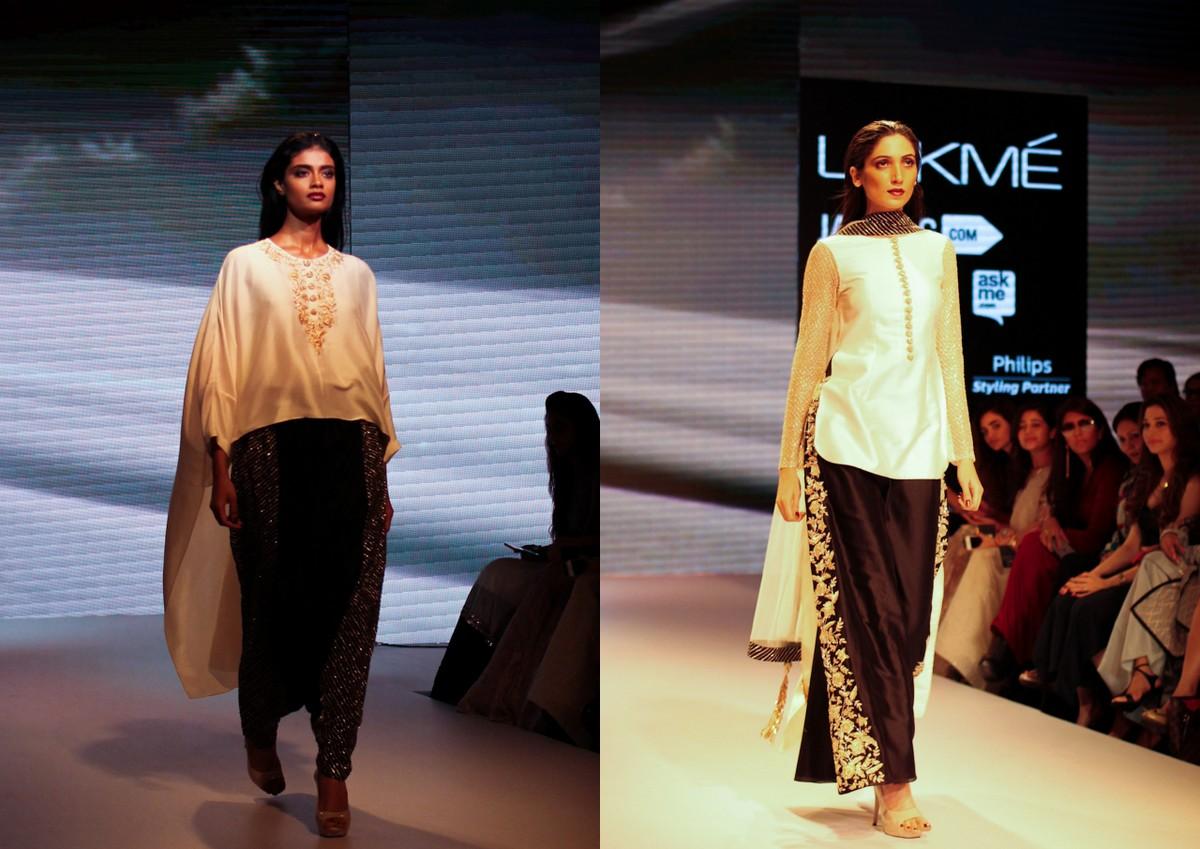 Nikhil Thampi Payal Singhal Lakme Fashion Week5