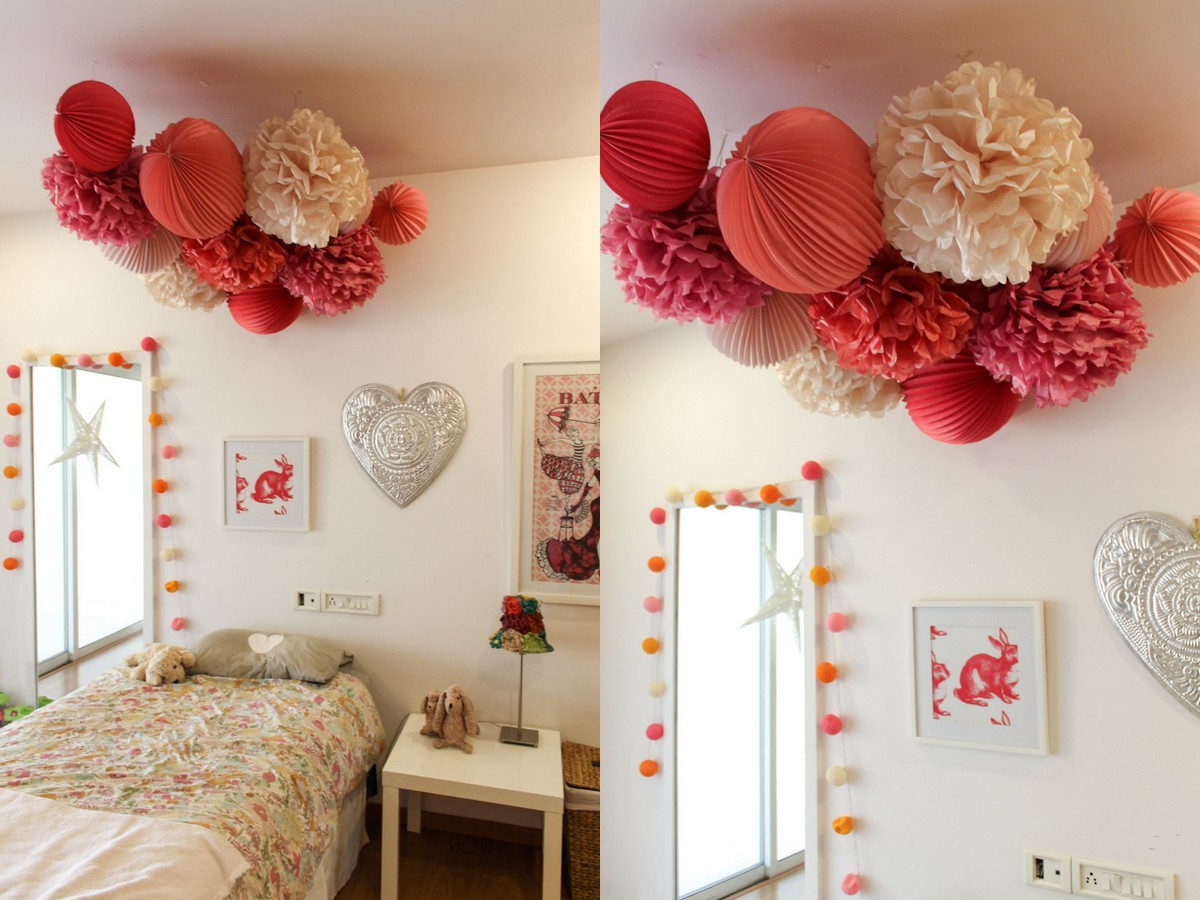 Kids Room with Pom-poms1