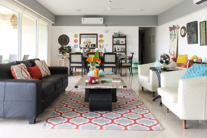 Modern Rustic Indian Design Home Chuzai Living