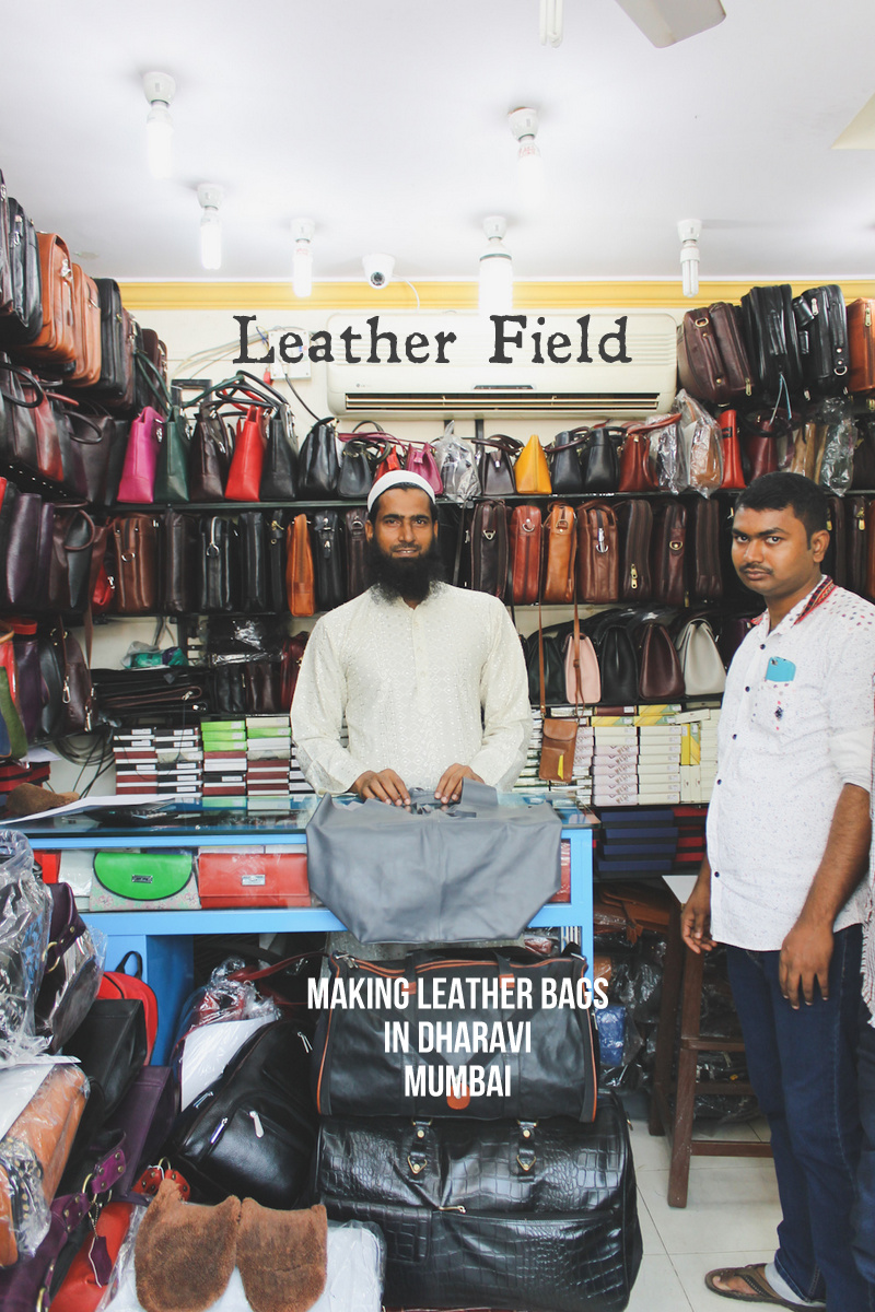 Leather Bags Dharavi Leather Field