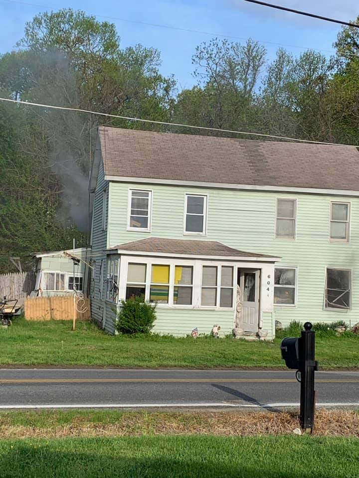 Units Respond to Rock Hall House Fire